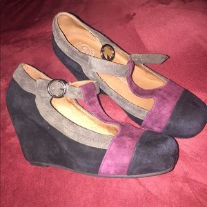 Jeffrey Campbell Darnell Wedges size 5.5